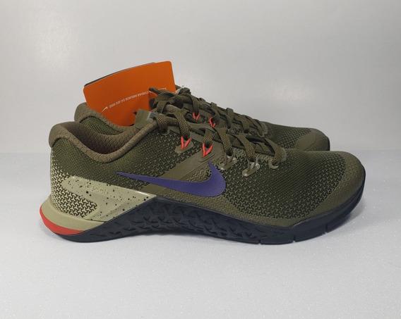 Tênis Nike Metcon 4 Verde De Treino Crossfit Masculino
