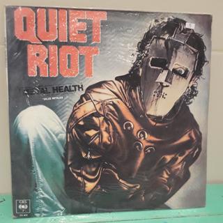 Quiet Riot Salud Metalica Metal Health Lp Vinilo Nacional