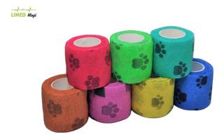 Bandagem/atadura Elastica Flexivel Tipo Coban C/ Patinhas