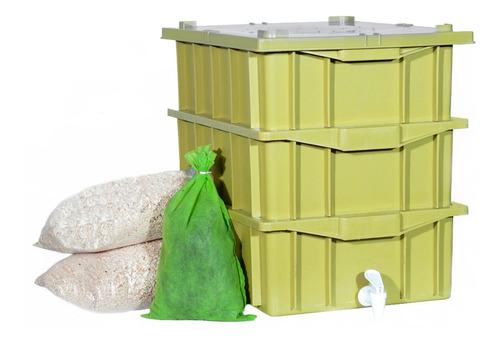 Composteira Doméstica / Minhocário 15l  Promoção