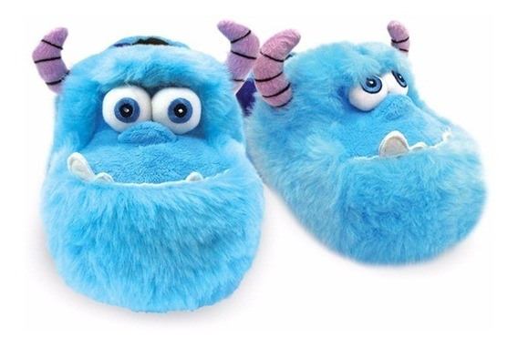 Pantufa Chinelo Monstros S/a Sulley Confort Solado Borracha