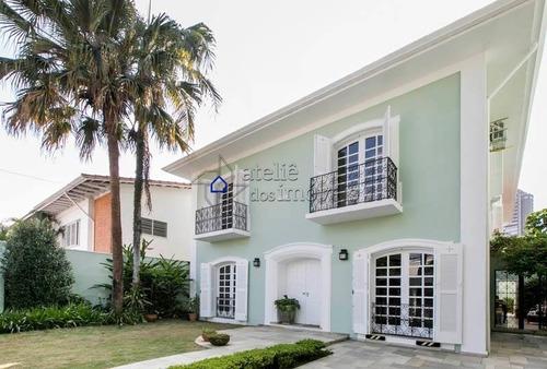 Imagem 1 de 27 de Casa No Jardim Paulistano - Pertinho Do Shopping Iguatemi ! - Ca0291at
