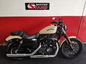 Harley Davidson Sportster Xl 883 N Iron 2014 Bege