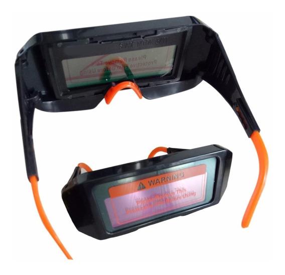 Kit 10 Óculos De Solda Automatico Modelo Novo.