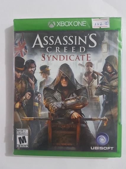 Assassins Creed Syndicate Xbox One Mídia Física Novo Lacrado