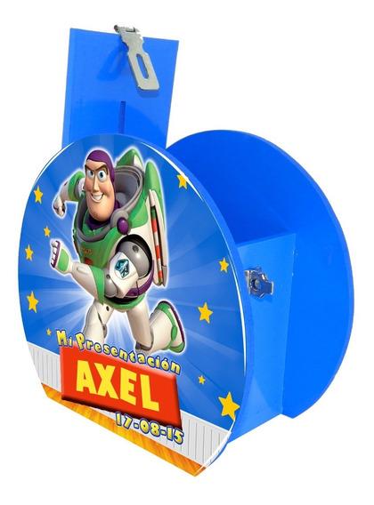 Alcancía Dulcero Centro Mesa Toy Story Buzz Personalizado