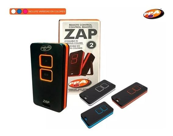 Control Remoto Portón Automático Ppa Zap 433,92mhz Original
