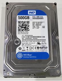 Hd Wd Desktop 500gb Wd5000aakx-00u6aa0 - C/ Bad Block