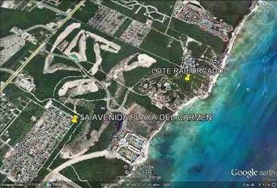 Terreno En Venta Para Desarrollos Turisticos En Playa Del Carmen