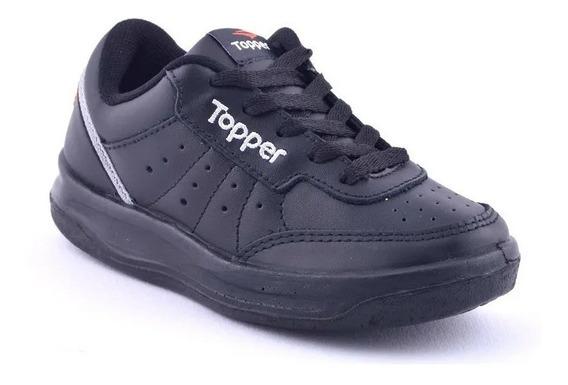 Topper Zapatillas Cuero X-forcer Kids Envío Gratis!