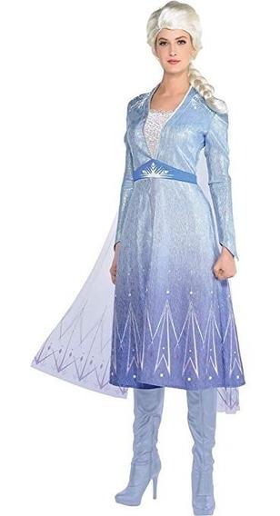 Disfraz Fiesta Frozen 2 Elsa (adulto - Mujer)