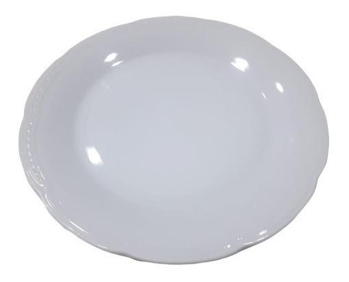 Plato Playo Tsuji Porcelana Linea 1800 Finos Relieves 25 Cm