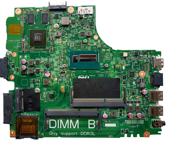Placa Mãe Dell 3437 5437 Doe40-hsw Nfe C/vid Celeron