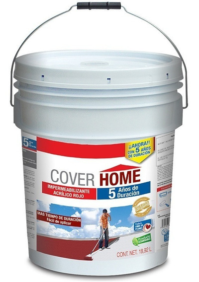 Sherwin Williams Impermeabilizante Cover Home Cubeta 18.92 L