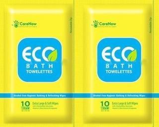 Toallas De Baño Ecologicas Antiseptico Para Adultos 10 Toal