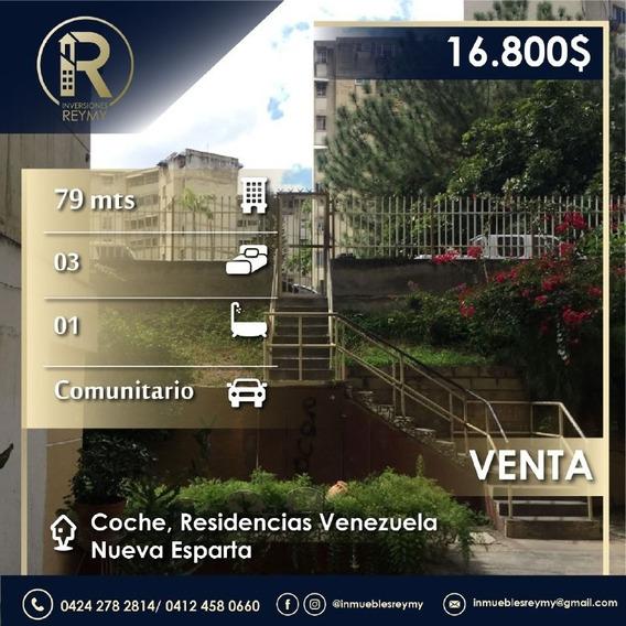 Apartamento Oportunidad En Coche Residencias Venezuela