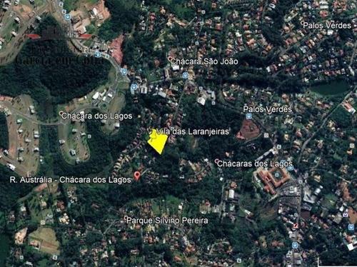 Terreno A Venda No Bairro Chácara Dos Lagos Em Carapicuíba - M488-1