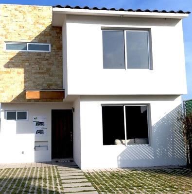 (crm-1391-2735) Venta De Casa Nueva En Villas La Magdalena 6 San Mateo Atenco