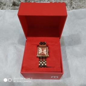 Relógio Feminino Mondaine Seculus Dourado Analógico R94335ld