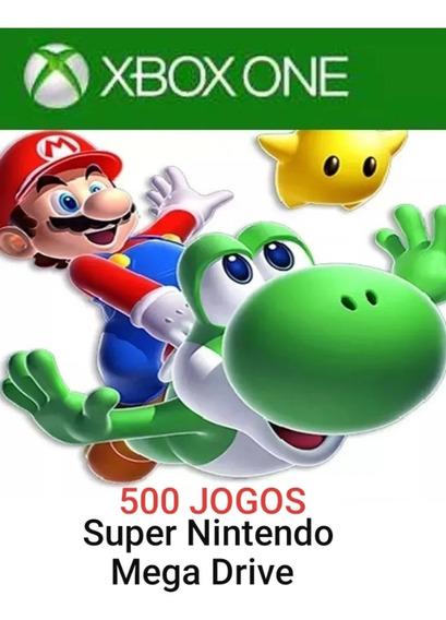 Super Emulador Para Xbox One 500 Jogos Retrô