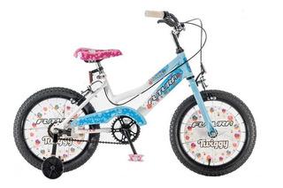 Bicicleta Futura Infantil R16 Nena 4041 Twin Otero Hogar