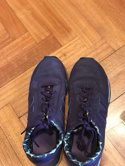 Zapatilla New Balance Violeta Número 38 Usado