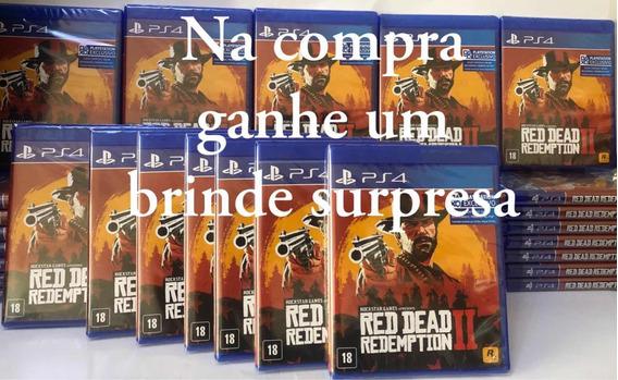 Red Dead Redemption 2 Ps4 Mídia Física Promoção