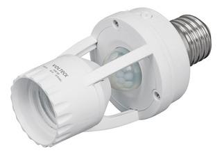 Portalámpara Sensor De Movimiento 360° Volteck 46274