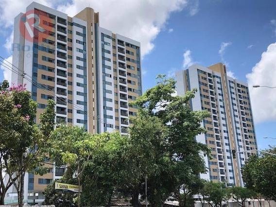Apartamento Com 2 Dormitórios Para Alugar, 42 M² Por R$ 1.750/mês - Iputinga - Recife/pe - Ap3248