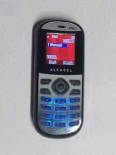 Alcatel Básico Ot-209a Telcel Radio Fm Y Lámpara