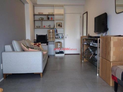 Apartamento Com 1 Dormitório À Venda, 45 M² Por R$ 760.000,00 - Jardim América - São Paulo/sp - Ap10380