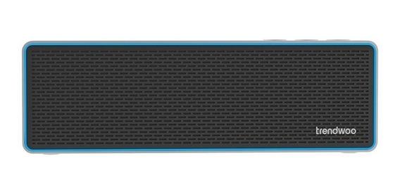 Caixa Som Trendwoo Bluetooth Pocket X 6w Ipx4 Azul