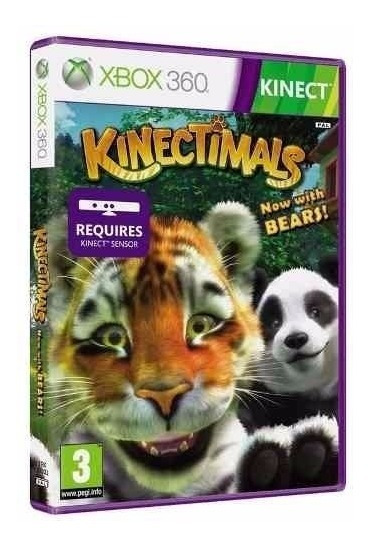 Kinectimals Com Ursos ( Para Sensor Kinect ) - Midia Fisica Original E Lacrado - Xbox 360