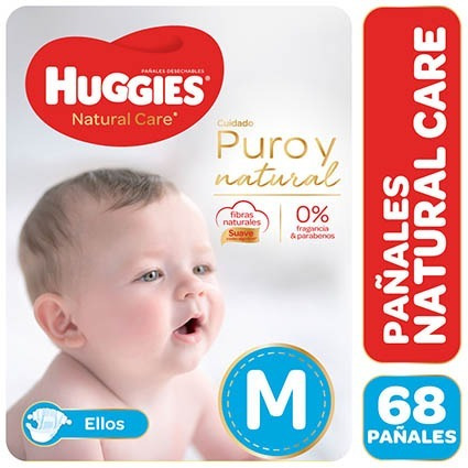 Huggies Natural Care Pack Mensual Para Ellos Y Ellas