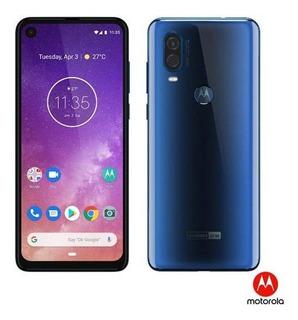 Smartphone Motorola One Vision Azul Safira 128gb Xt1970-1