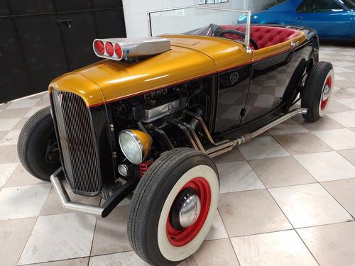 Imagem 1 de 15 de Ford  A  - V - 8 - Roadster - Gasolina - 1931