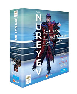 Blu-ray : Nureyev Box / Swan Lake / Nutcracker / Don...