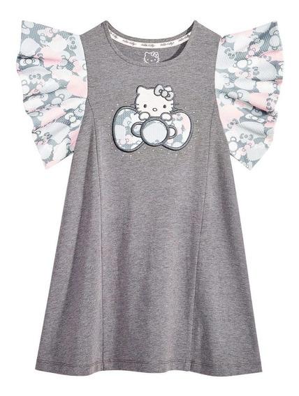 Hermoso Vestido Hello Kitty Original 6 Años