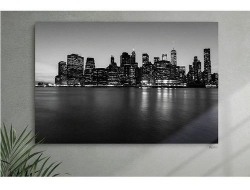 Imagen 1 de 4 de Cuadro Decorativo New York Multicolor Këssa Muebles