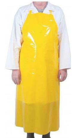 Delantal De Pvc Color Amarillo O Azul - De01p5