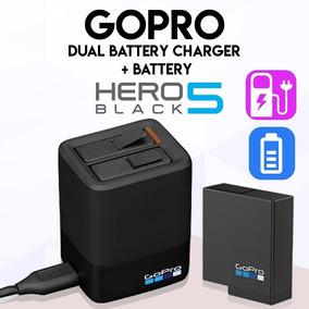 Carregador Go Pro Hero 5 Dual Charge + Bateria Original Novo