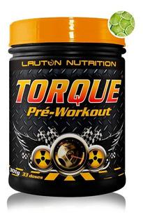 Pre - Treino Torque 301g Original Sabores - Lauton Nutrition