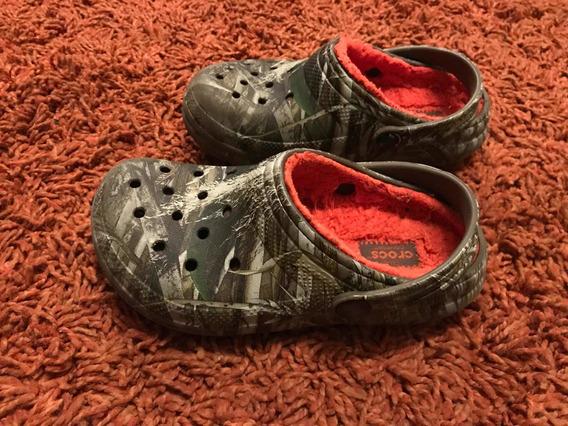 Sandalias Crocs Originales Camuflaje Talla 31