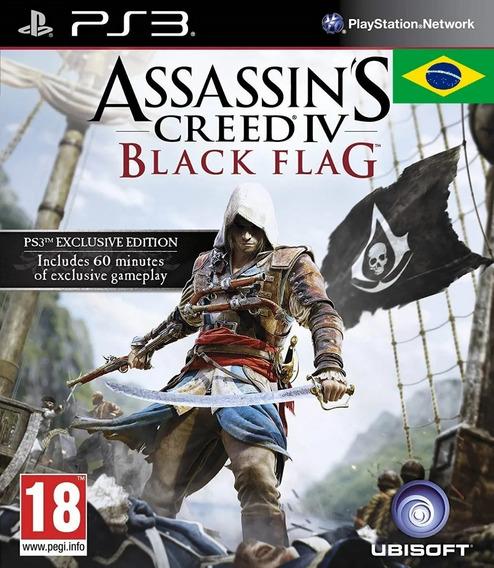 Assassins Creed 4 Black Flag Dublado Ps3 Psn Game Play 3