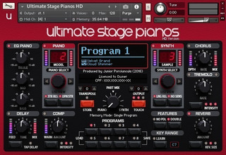 Ultimate Stage Pianos Hd - (kontakt)