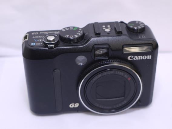 Câmera Fotográfica Canon G9 Com Defeito ,para Peças .