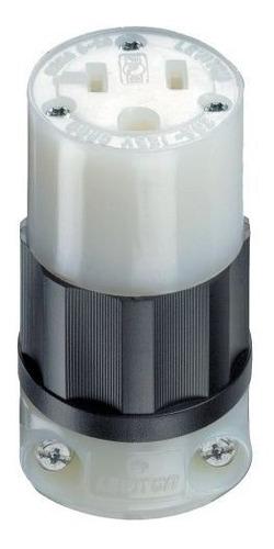 Leviton 5369c 20 Amp 125 Volt Connector Industrial Grade Str