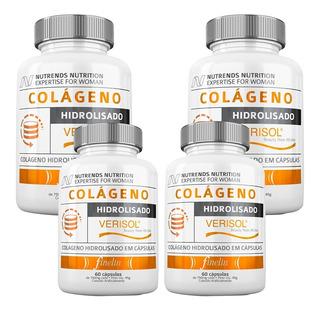 4x Colágeno Verisol Hidrolisado Rejuvenescimento Promoção