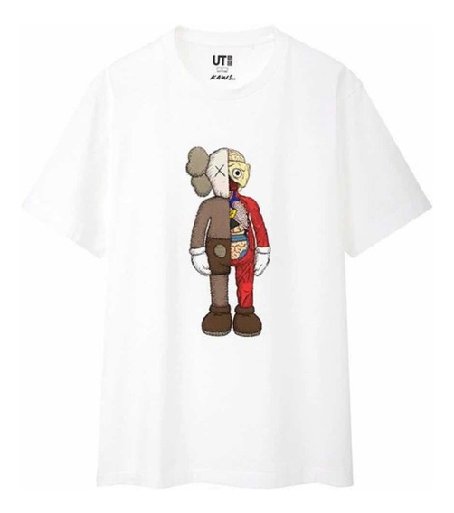 Playera Tshirt Kaws X Uniqlo Summer Collection 2019 Original