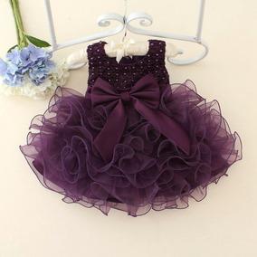 Vestido De Festa Infantil Bebê Fashion - Menina